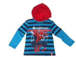 BLUZA   Z KAPTUREM SPIDERMAN 2/3 LATA 98 cm